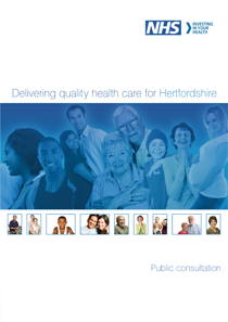 Hertfordshire PCT Hospital Consultation report cover
